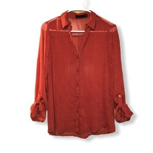The Limited brand button down blouse